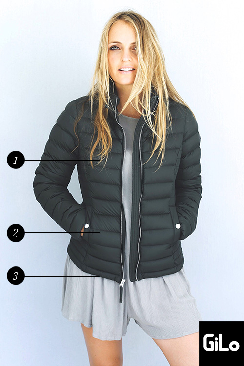 Sassy Sand Short puffer Jackets Without Hood - » StoreFront