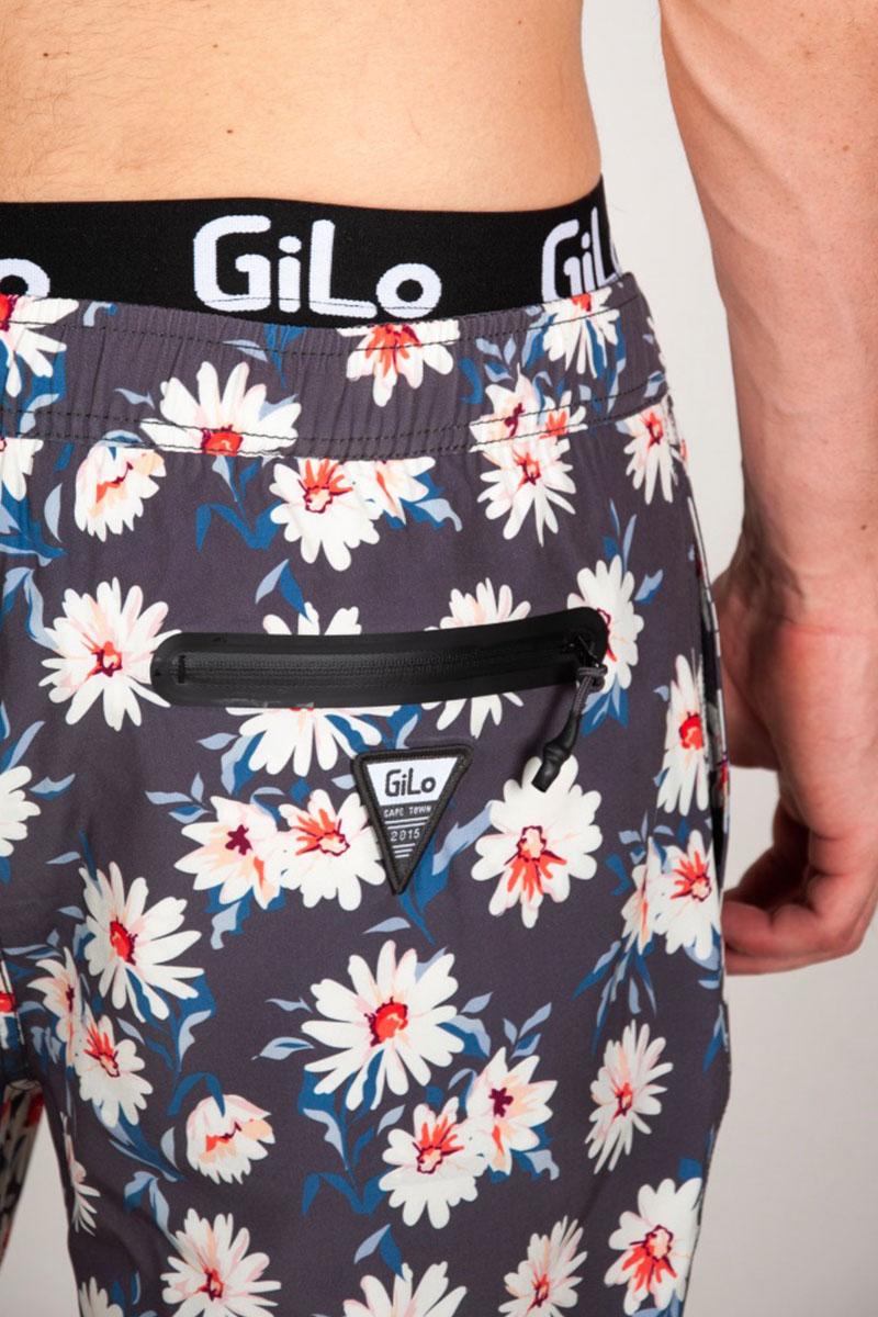 GiLo Lifestyle Shorts - Grey Daisy