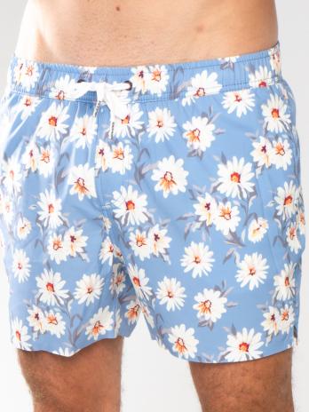 NEW GiLo Classic Shorts – Grey Blue Daisy