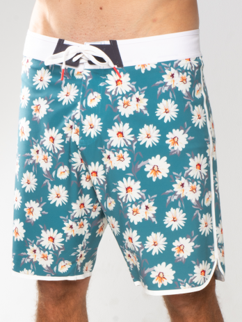 NEW GiLo Boardshorts – Soft Forest Green Daisy