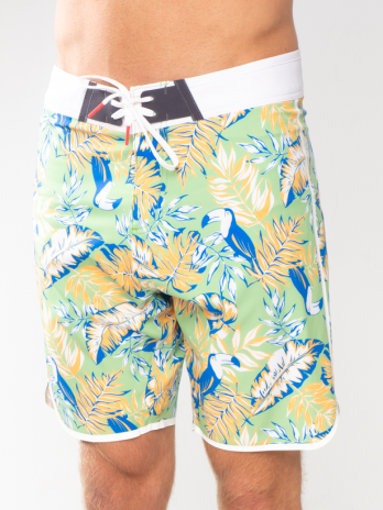 NEW GiLo Boardshorts – Toucan Orange & Sage