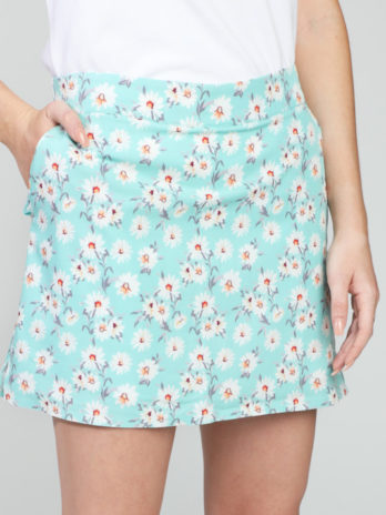 NEW GiLo Ladies Skort – Mint Ditsy Daisy