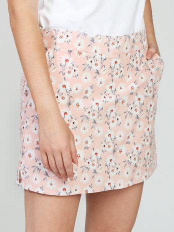 NEW GiLo Ladies Skort – Peach Ditsy Daisy